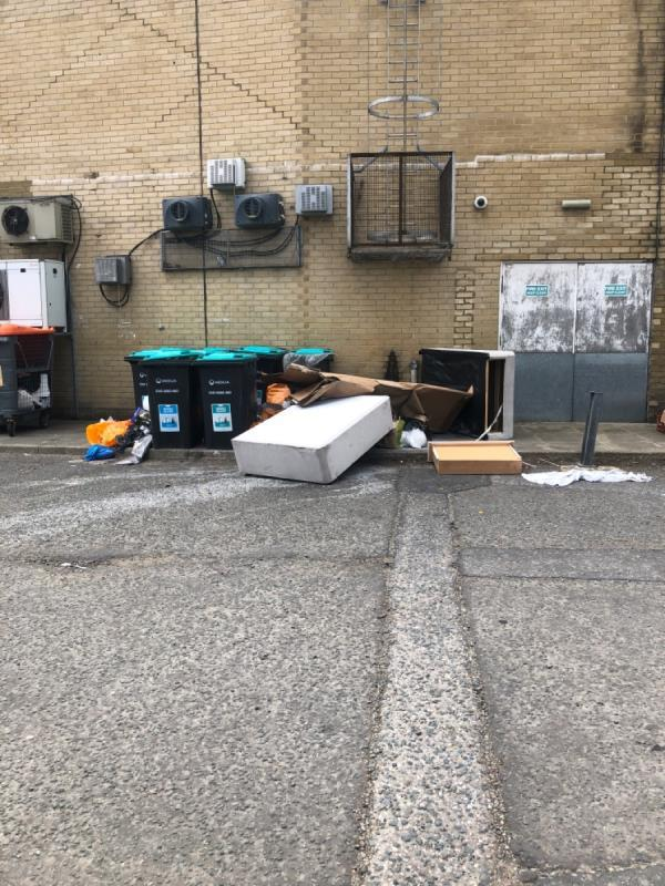 Fly tip-55 Great Eastern Rd, London E15 1DS, UK