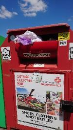 Clothing bank needs to be emptied  image 1-17 Northbrook Road, Reading, RG4 6PF