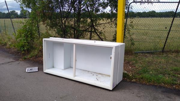 flytipped fridge-3 Warren Farm Sports Centre Windmill Lane, London, UB2 4NE