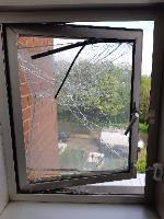 CHETTLE COURT N8 9NZ BC BLOCK 1st FLOOR next to flat 43 landing window glass smashed and hanging off needs to be made safe ASAP -14 Highbank Way, London, N8 9NZ