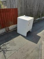 THIS trolley and fridge has been left on the corner of merridale St West &owenrd ,people have been saying that it's the councils job to get rid of the rubbish they leave on the streets as they have been removing it for them since they have come here,we have heard it many times.  image 1-71 Owen Road, Wolverhampton, WV3 0AL