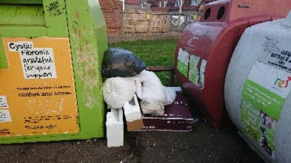 House old waste removed fly tipping -35 Hazel Crescent, Reading, RG2 7ND