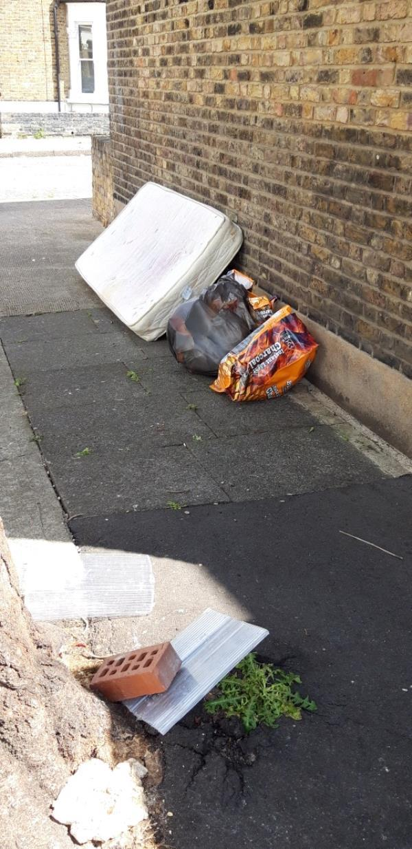 Fly tippers love this area. Shame we have to live there.-33 Torrens Road, London, E15 4NA