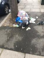 Fly tipped household rubbish and food are dumped on Locarno Road junction Greenford Road ub6  image 1-504 Greenford Road, Greenford, UB6 8SH