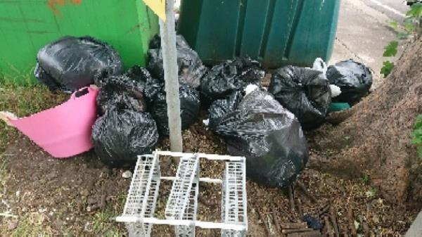 House old waste removed fly tipping on going at this site daily -127 Cranbury Road, Reading, RG30 2TD