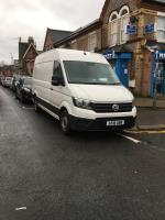 Illegal parking preventing people from using drop down kerb image 1-9 Manchester Road, Reading, RG1 3QD