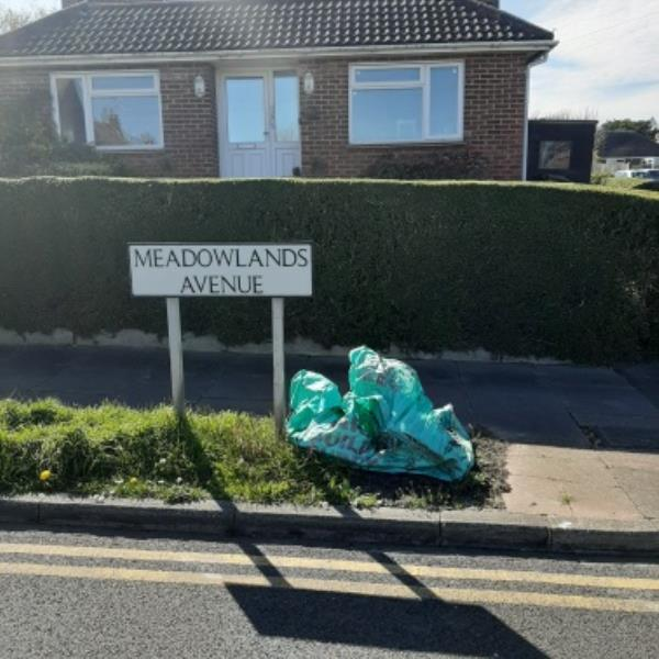 SEESL from NP Zone2 EBC 7th April 3.15pm please remove the green builders waste bag from the junction of Meadowlands and Brodrick Rd.   thank you  Neil image 1-330 Brodrick Road, Eastbourne, BN22 0DP