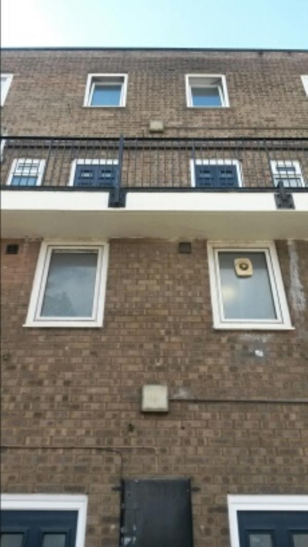 I to 43 James place N 17 there's 1 2D light between 29 and 31 need changing -Army Cadet Force And Air Training Centre James Place, London, N17 8