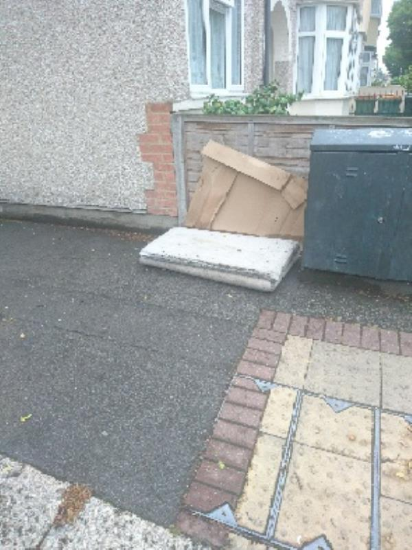 fly tipping -34 Godwin Rd, Forest Gate, London E7 0LE, UK