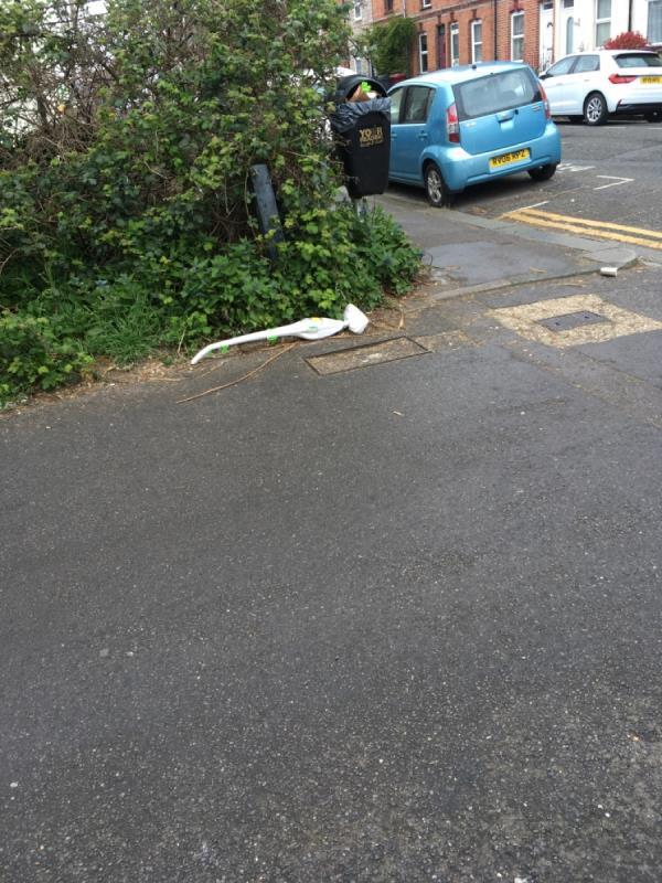 Abandoned/ fly tipped appliance -200 Elgar Road, Reading, RG2 0BN
