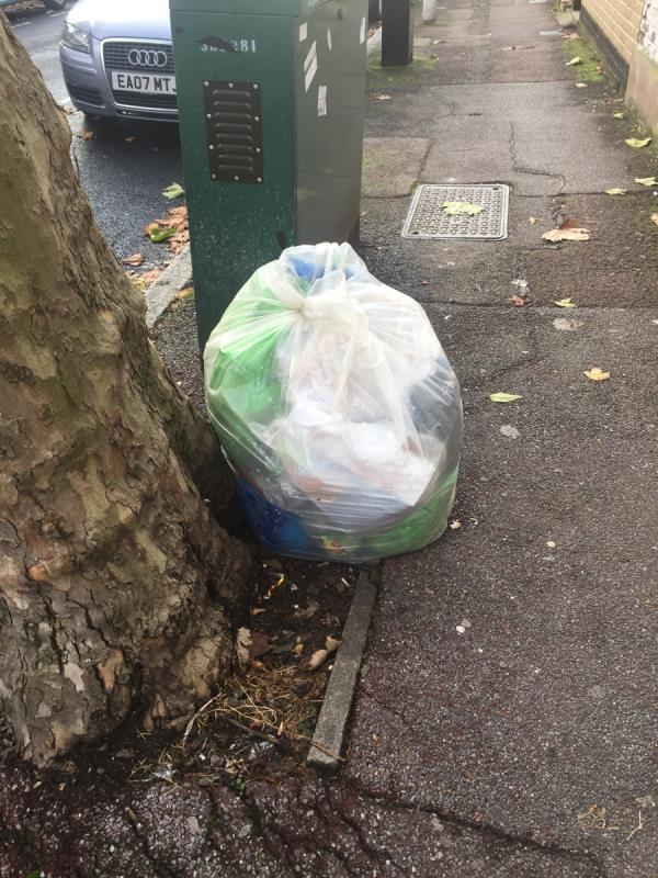 Rubbish dump at Shelley avenue E126rf -126 Shelley Avenue, London, E12 6PU