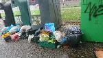 House old waste removedl fly tipping on going at this site  image 1-5 Spring Terrace, Reading, RG2 0EQ