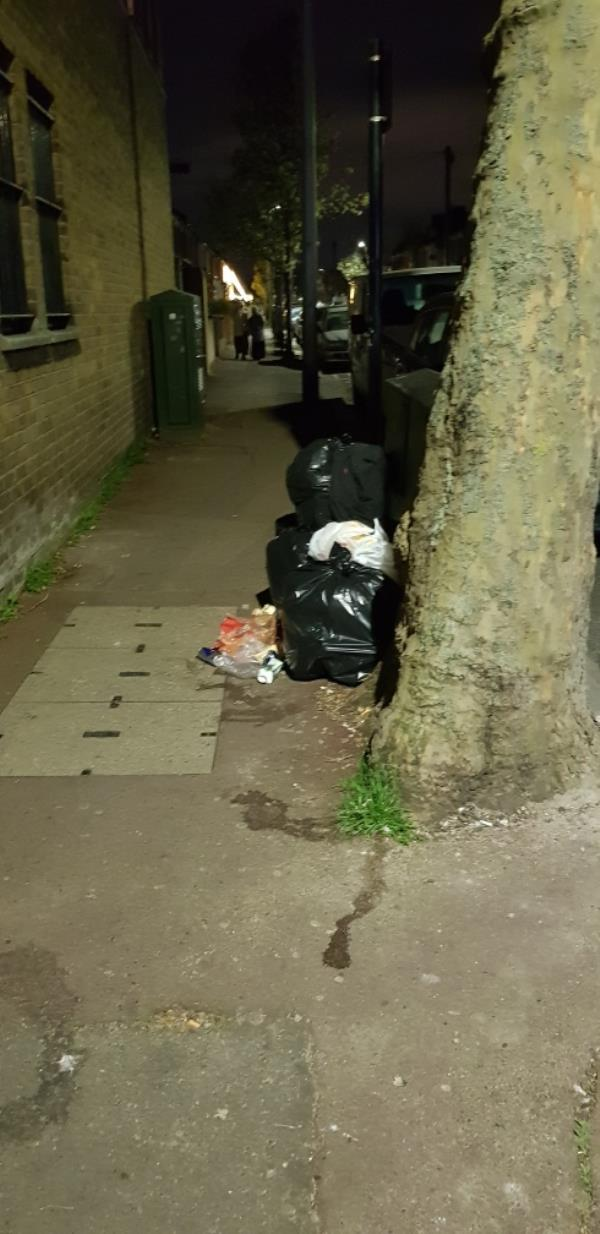 Dumped rubbish at the end of Meanley Road, usual hot spot for dumping rubbish.-668a Romford Road, Manor Park, E12 5AJ