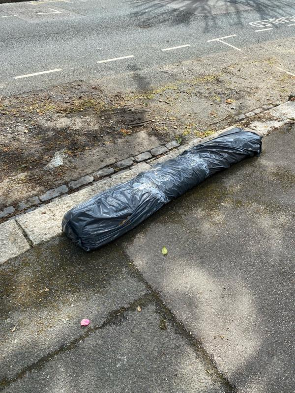 This carpet has been left in the street-61 Latimer Road, London, E7 0LN