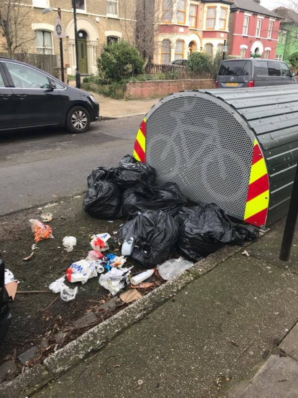 Dumped rubbish-80 Osborne Road, London, E7 0PH