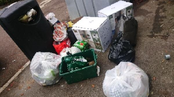 House hold waste removed fly tipping on going at this site large amount removed -28 Northbrook Road, Reading, RG4 6PF