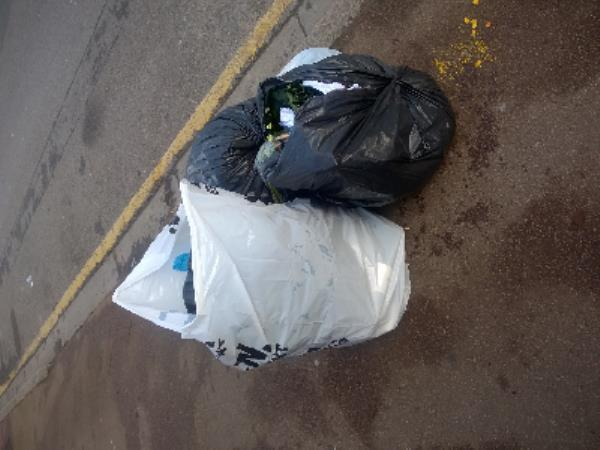 5 bags food waste, green waste-135 Essex Road, London, E12 6