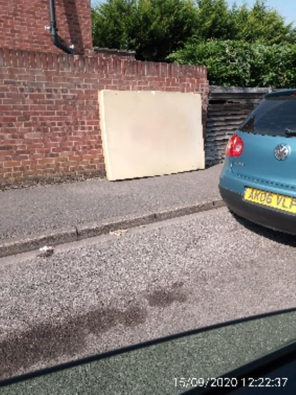 Mattress on Chester Street ifff Oxford Road please collect -6 Little John's Lane, Reading, RG30 1LG