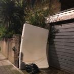 More rubbish dumped here again. Time to install a camera...-155 Glyn Road, London, E5 0JT