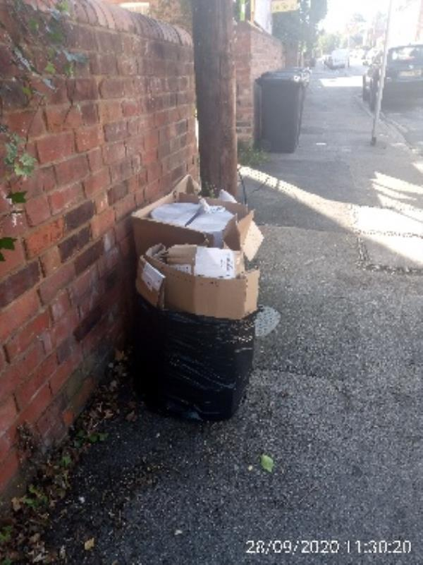 Have investigated please collect from opposite 34 Russel Street -43 Russell Street, Reading, RG1 7XD