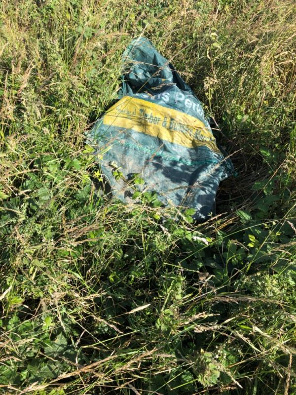 Fly tipping-Mill Hill, Steyning, BN44 3TF