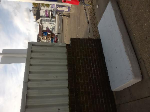 single mattress-Forest Gate Police Station 350-360 Romford Road, London, E7 8BS