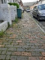 SEESL NF JN Zone2 10/10/19 @ 3pm please can you clear the weeds that are all along the public pathway on St Mary's Road, the area is looking very untidy and slippery causing potential falls and slips. many thanks Jo Nones-9 St Mary's Road, Eastbourne, BN21 1QD